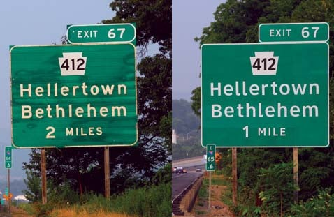 Move Over, Highway Gothic, There's a New Font In Town