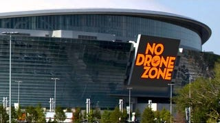 PSA - Don't bring your drone to the Super Bowl