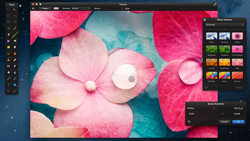 Pixelmator Image Editor On Sale for 50% Off