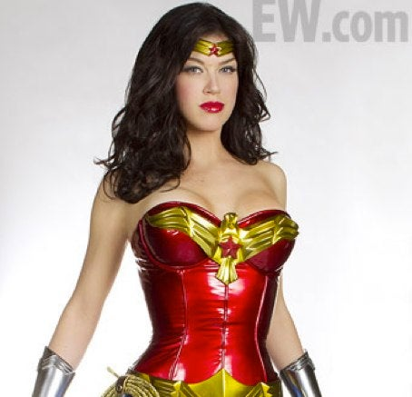 First Wonder Woman costume photo will make your eyes bleed
