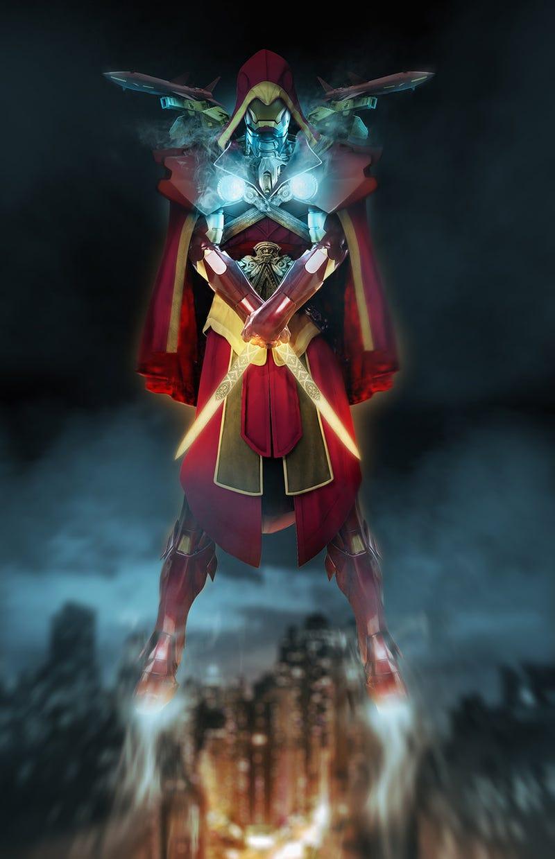 Iron Man As Assassin's Creed (And Dragonball, And...Daft Punk)