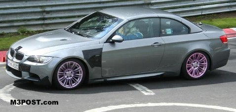 BMW M3 Convertible: e93 Action