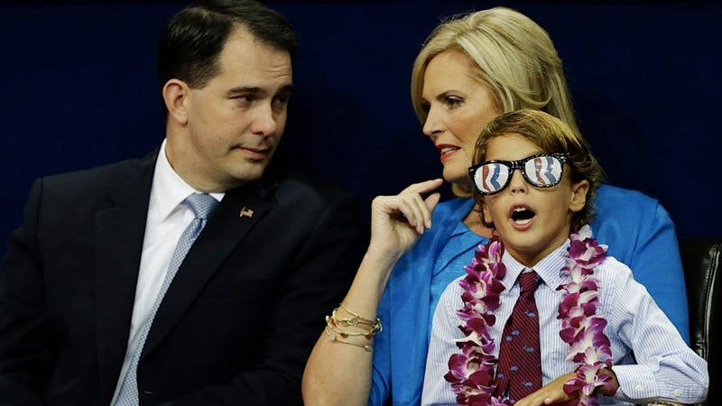 A Romney Grandkid Just Put on the They Live Glasses and Is Freaking Out