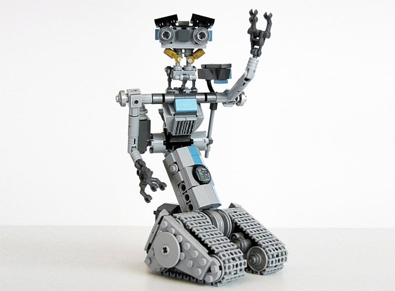 Johnny Five, Our One True Robot Hero, Might Soon Be an Official Lego Set