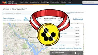 Most Popular Weather Web Site: Weather Underground