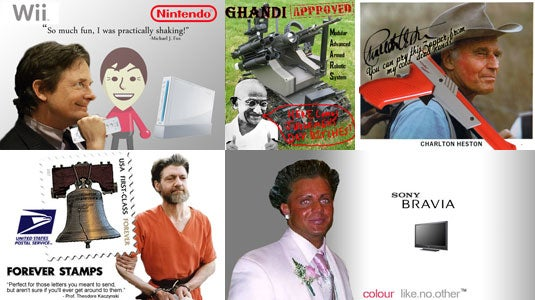 Unlikely Spokesperson Contest Results: Gadget Ads You'll Only See in Hell