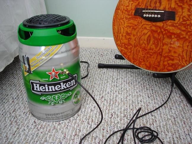 20-Watt Beer Sound Amplifier Makes Perfect Sense, Really