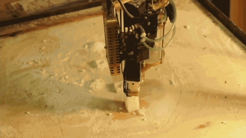 Building Sand Castles Is Less Frustrating When You Let a Robot Do It