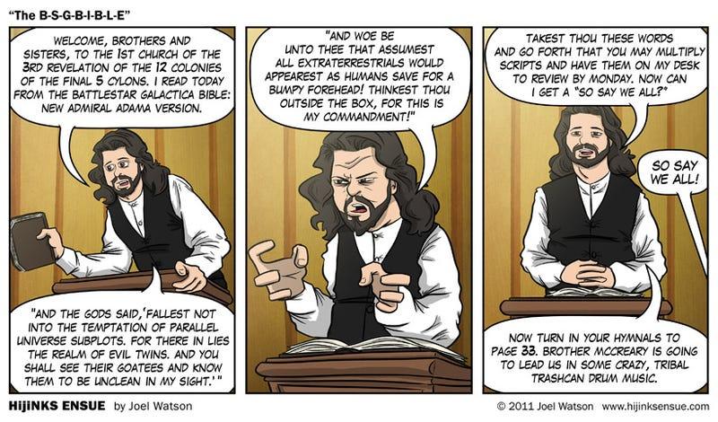 The REAL Battlestar Galactica Series Bible