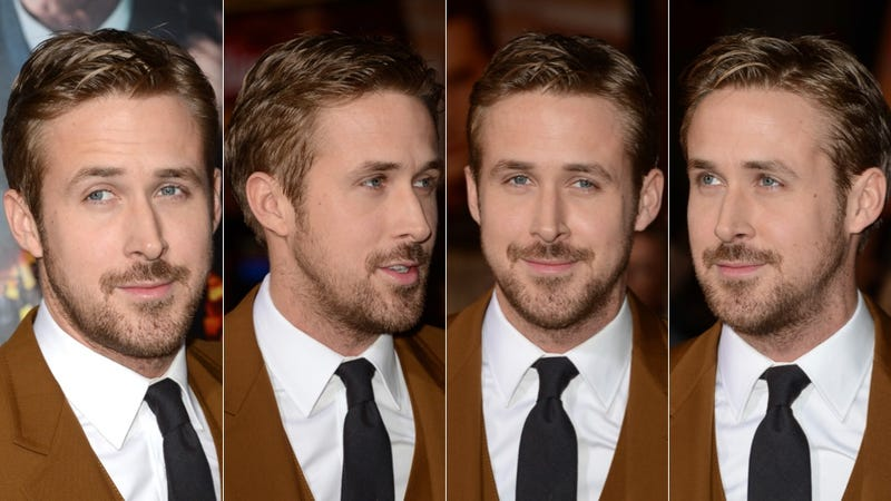 Hey Girl, Ryan Gosling Was Covered in Chocolate at the Gangster Squad Premiere