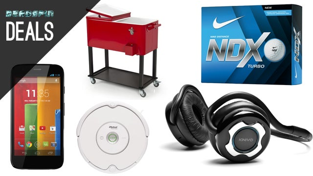 Roomba Under $200, Nike Golf Balls, $70 Android Phone With No Contract