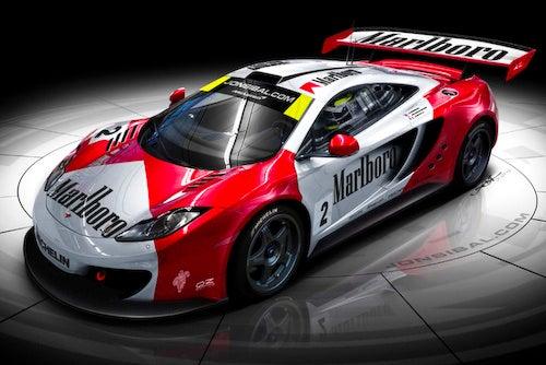 New McLaren MP4 Liveried Same As Old McLaren F1 GTR