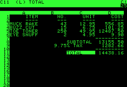 VisiCalc: Father of the Spreadsheet