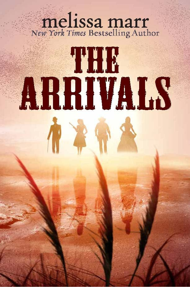 Land of the Gun-Toting Monks: Your First Look at Melissa Marr's The Arrivals!