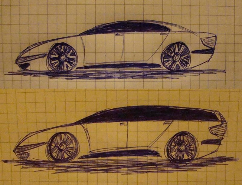 So I Drew Some Cars