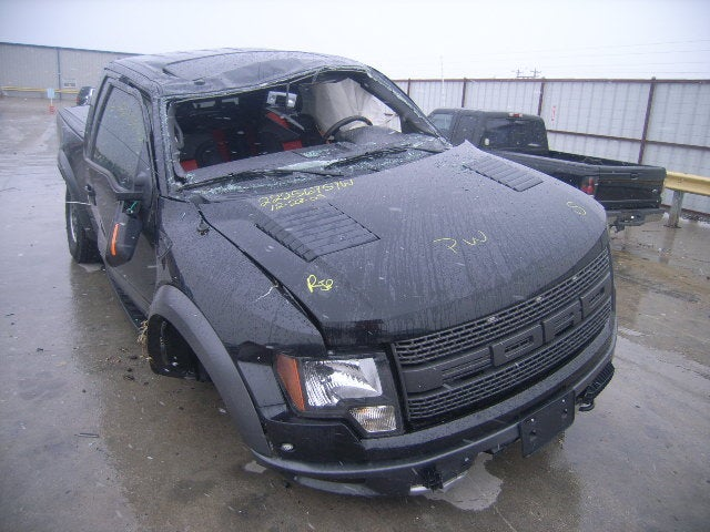 Ford F150 SVT Raptor Crash, Oh The Pain!