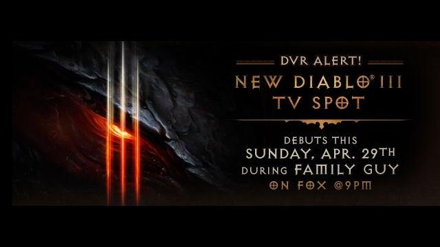 Diablo III's Big Ad Debuts Tomorrow on Family Guy