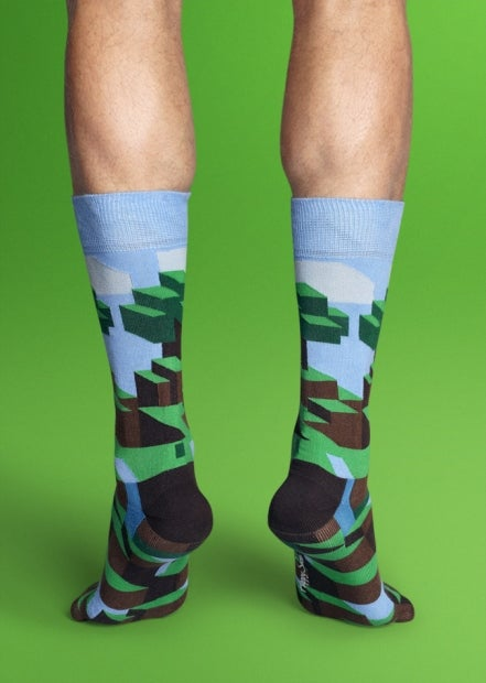 Minecraft Socks are Way Cooler Than You Think