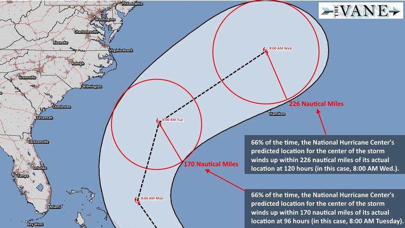 Respect the Cone: Hurricane Forecasts Explained