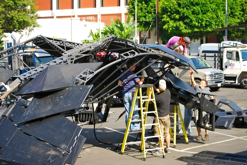 Dark Knight Rises Set Photos