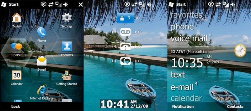 Windows Mobile Team Admits, Explains 6.5's Half-Assed UI