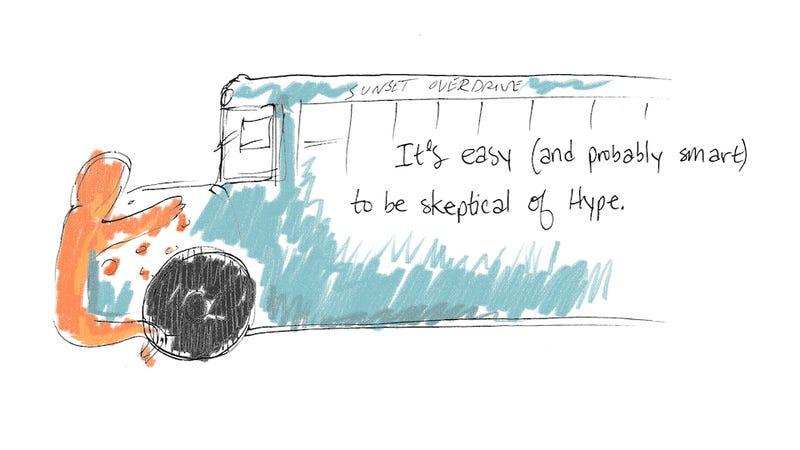 Final E3 Comic: Excitement Versus Hype