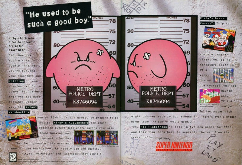 Nintendo Says Americans Like Kirby When He's Angry