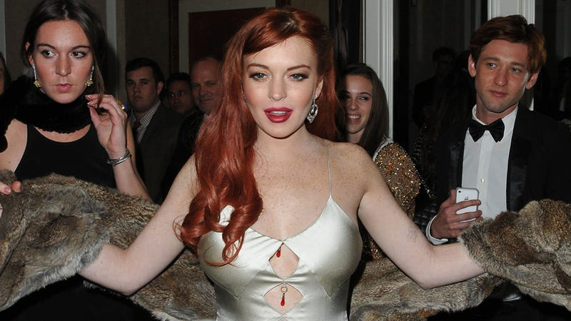 Lindsay Lohan Skipped Court to Continue Stalking The Wanted, Has Yet to Thank Charlie Sheen for Giving Her $100K
