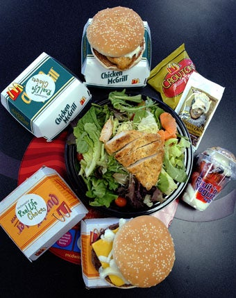 Healthier Menu Options Lead To Less Healthy Choices