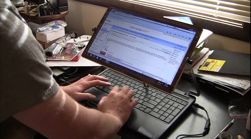 Ben Heck's Latest Hack Detaches Laptop Screen for Inflight Comfort