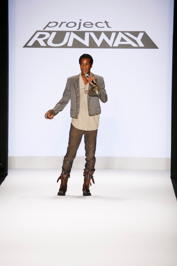 Project Runway Fashion Show: Jerell