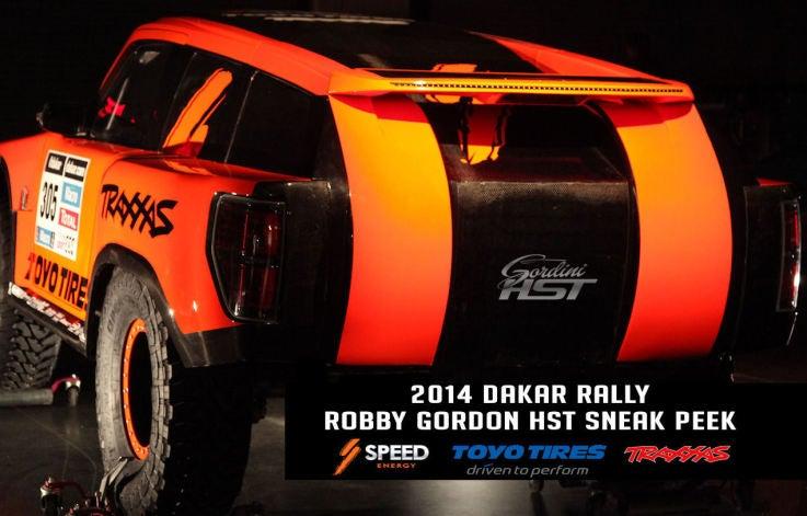 Robby Gordon's 2014 Dakar Racer