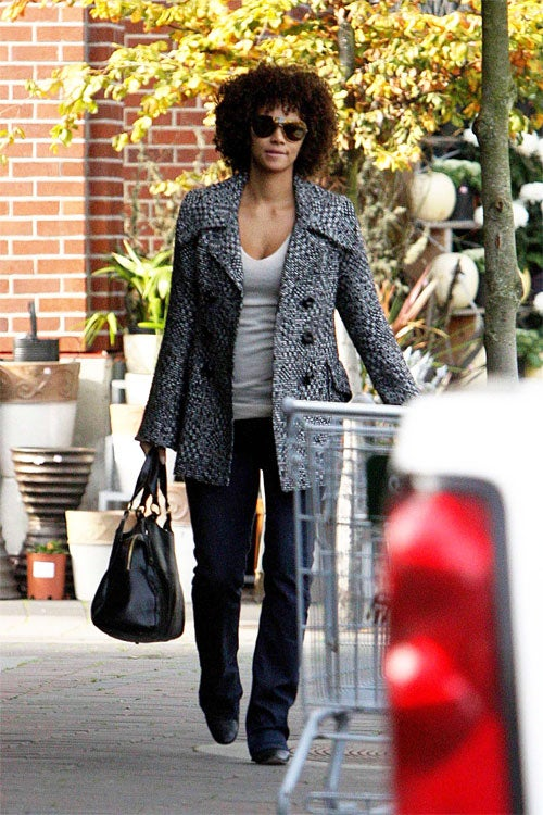 Halle Is All, Well, Hair