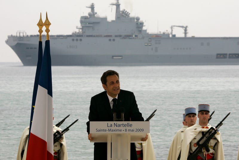 Why These Powerful French Assault Ships Might End Up In Putin's Hands
