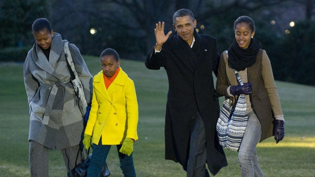 The Obamas Are Bummed That The Holidays Are Over