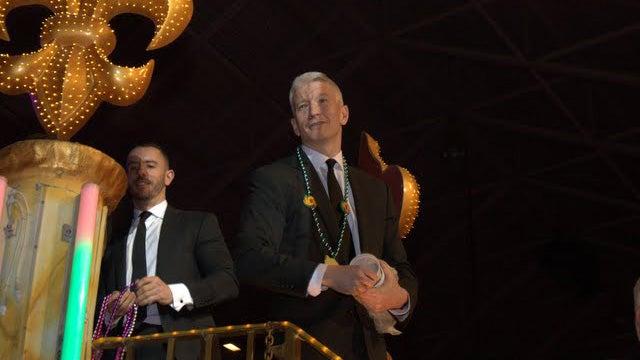 Anderson Cooper Brought His Boyfriend to Mardi Gras