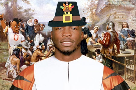 Jamboroo, Week 13. THANKSGIVING EDITION, In Which Chad Ocho Cinco Tells You The Story Of The First Thanksgiving