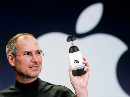 Let's See Steve Jobs Unveil Something Other Than an Apple Product