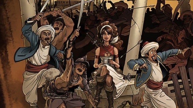 Delilah Dirk and the Turkish Lieutenant takes us to 1800s Constantinople in a flying sailboat