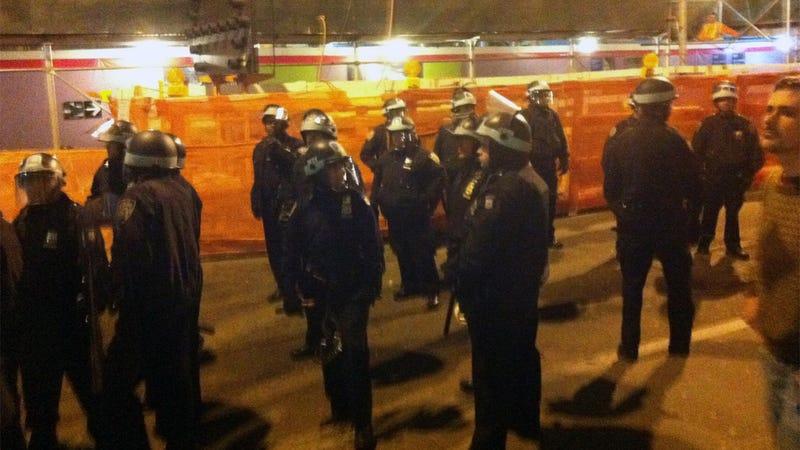 The Evacuation of Zuccotti Park Has Begun
