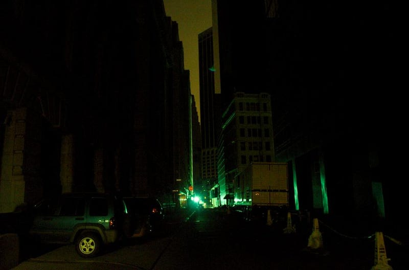 A Bike Tour Through Blackout Manhattan; Or, How to Get the Corner Booth at The Spotted Pig