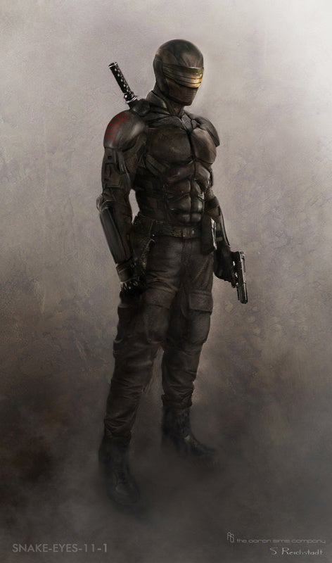 G.I. Joe: Retaliation concept art shows off a very different Cobra Commander