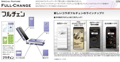 Japan's Finest: KDDI Fall Winter Cellphone Line