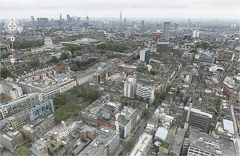Una panorámica de Londres bate récord mundial con 320 gigapíxeles
