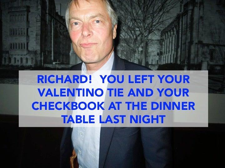 Richard Johnson, I Have Your Stuff!