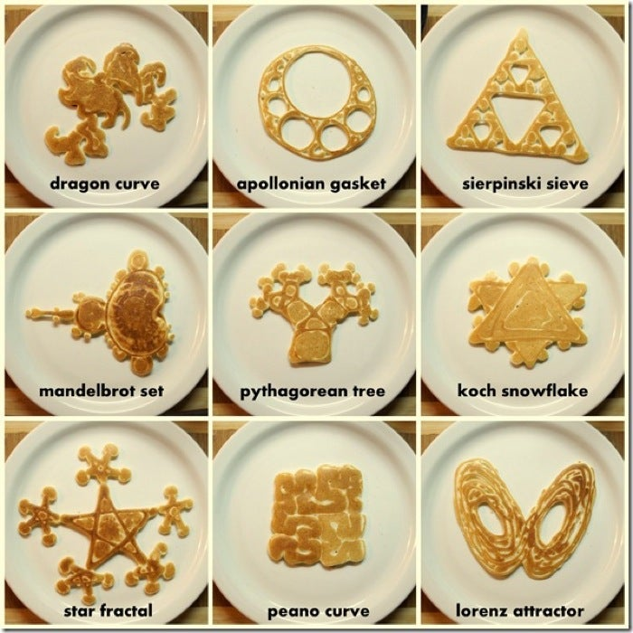 Let them eat fractal pancakes