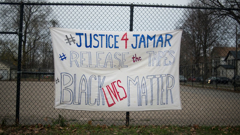 Protesters Rally in Minneapolis After Jamar Clark Shooting Decision