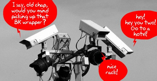 Talking CCTV Scheme: Big Brother Says 'Stop Picking Your Nose Now, Robert'