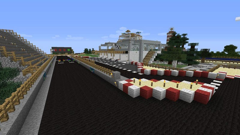 There's Going To Be A Mario Kart Tournament…In Minecraft