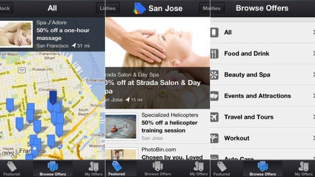 There's Now a Google Offers iPhone App